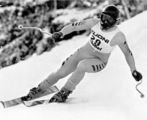 Bruno Kernen Kitzbuhel 1983
