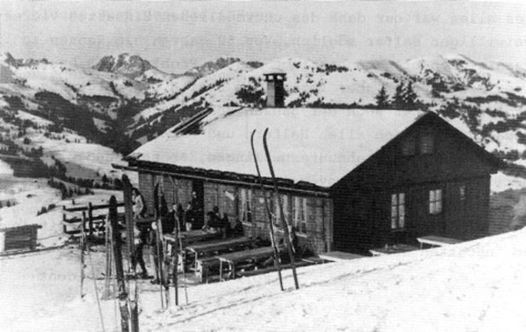 Das provisorische Restaurant am Horneggli