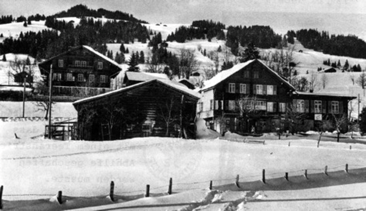 Das Hotel Bahnhof spielte in der Geschichte des Ski-Clubs immer eine zentrale Rolle